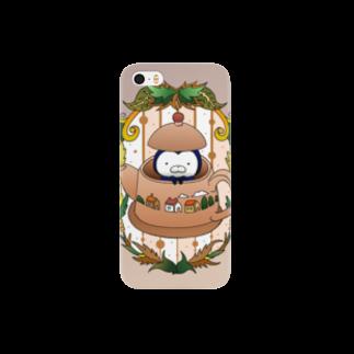 SUZURI×ヤマーフのティーポット Smartphone cases
