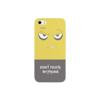 Don't Touch my Phone Smartphone cases
