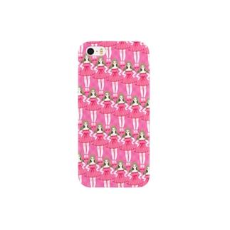 pink girls スマートフォンケース
