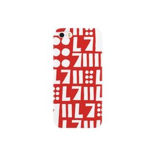 ハズレ -pattern R- Smartphone cases