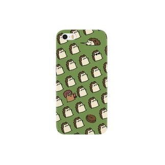 ハリネズミのこはりさん Smartphone cases