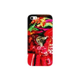 ネコのツバサ Smartphone cases