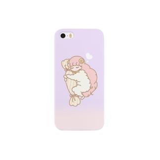 眠る羊ちゃん Smartphone cases