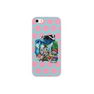 「カエルいた!(ピンクドット)」のiPhone5/S5用 Smartphone cases