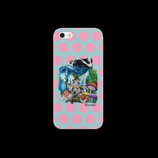 引田玲雄 / Reo Hikitaの「カエルいた!(ピンクドット)」のiPhone5/S5用 Smartphone cases