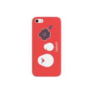 ことりとおはな Smartphone cases