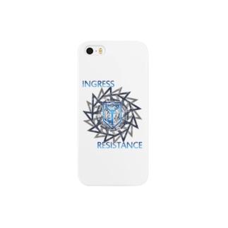 INGRESS RESISTANCE BlueGear Smartphone cases