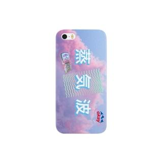 蒸気波 Smartphone cases