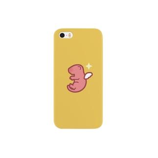ピンクマウスのエンジェル スマホケース Smartphone cases