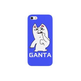 がんたのiphoneケース(ホジホジ) Smartphone cases