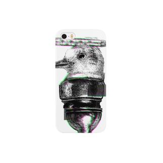 声なき悲鳴(iPhone case) Smartphone cases