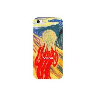 Scream スマートフォンケース Smartphone cases