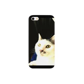 白グレ、あんにん。 Smartphone cases