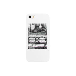 見えない景色(iPhone case) Smartphone cases