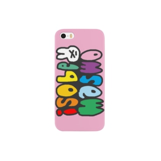マスホ 〜ピンク〜 Smartphone cases