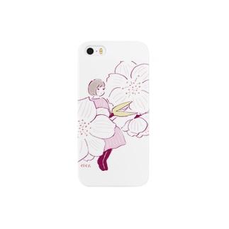 桃の花 Smartphone cases