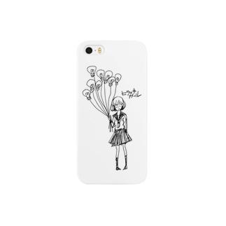 ヒラメキガール Smartphone cases