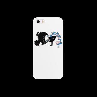 ShikaNiwa.Sandy.Jido.S.Alice.Ori.S.のwitch & cat Smartphone cases