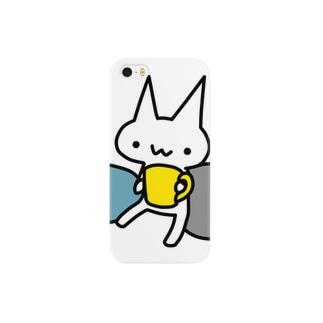 コーヒーねこ Smartphone cases