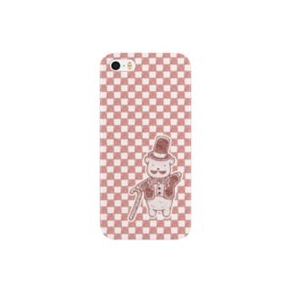 くまの紳士 Smartphone cases