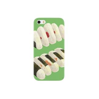 分断されたおにぎり Smartphone cases