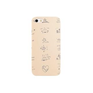 ねこたち Smartphone cases