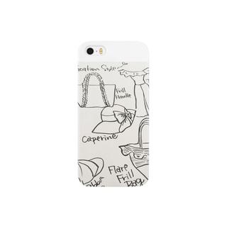 ファッションスケジュール Smartphone cases