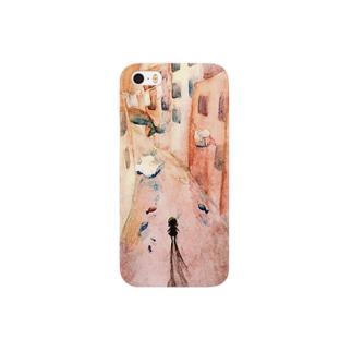 jugemuのクジラと少女 Smartphone cases