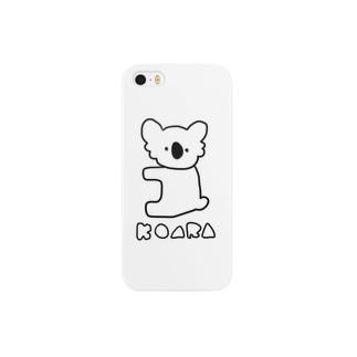 moriumeのコアラ Smartphone cases