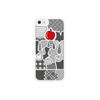 らくがきケース(5推奨サイズ) Smartphone cases