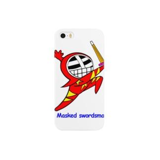 マスクド・レッド Smartphone cases