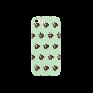NIKKEのcatライムグリーン Smartphone cases