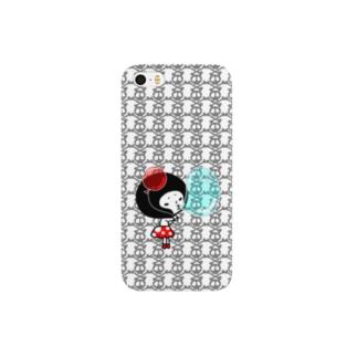 シュールさんドクロ Smartphone cases