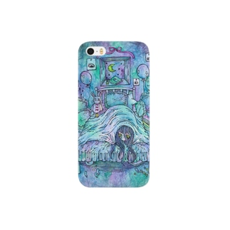 blue blue baddream Smartphone cases