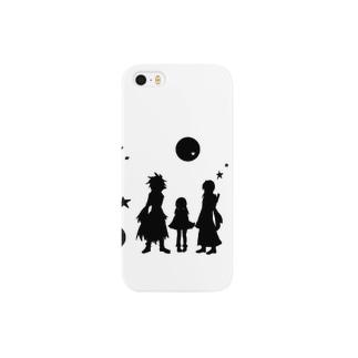 モノクロpart2 Smartphone cases