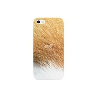 猫毛(茶白) Smartphone cases
