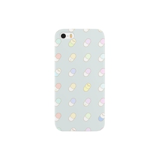 おくすりインコ Smartphone cases