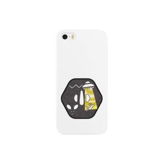 刀剣鍔 アブダクション Smartphone cases