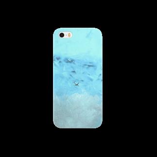 """鯨窓机(第二極地観測所)の""""ストームグラス航空402便"""" Smartphone cases"""