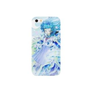 水母少女ケース Smartphone cases