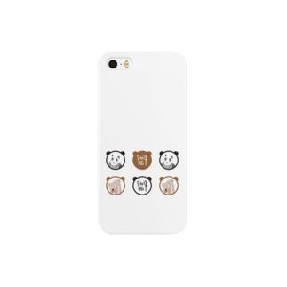 パンダとくま スマートフォンケース
