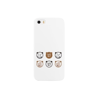 パンダとくま Smartphone cases