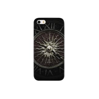 -JUNERVA- iPhone5/6ケース DARK CLOCK Smartphone cases