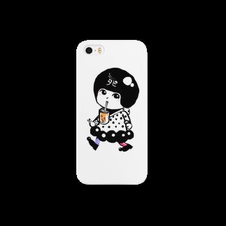 篠原トオルのタピ丘ちゃん Smartphone cases