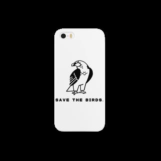 natsuのヒゲワシ Smartphone cases