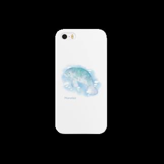 ナナホシ屋のマナティ Smartphone cases