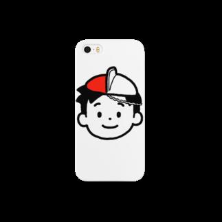 のりま屋の体操帽子くん Smartphone cases