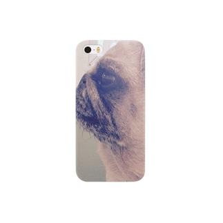 横顔きのこ Smartphone cases