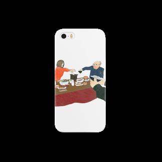 いわたつ ななえの朝食 Smartphone cases