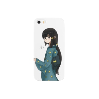 Tongue daughter 舌打ち娘 Smartphone cases